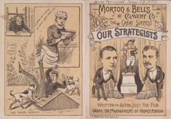 Advert for Morton & Bell's Comedy Company